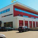 Адм. здание Полиции и Пожарного департамента - Vahtra tn.3, г. Нарва.